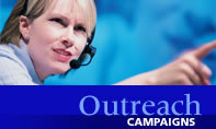 Outreach Campaigns Support in Washington, DC, VA, MD
